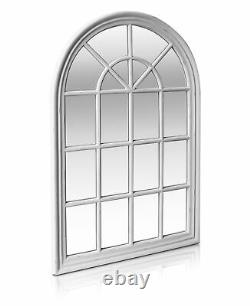 Antic by Casa Chic French Window Mirror in Antic White Solid Frame 120x80 cm