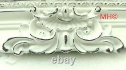 Antique Style White Cream Large Wall Mirror Traditional French Design 180x100cm