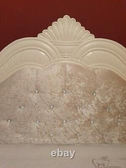 BARGAIN PRICE! Used French Bed Hand Carved 6ft/ SUPER KING FRAME WITH MATTRESS
