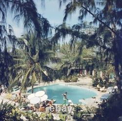French Leave Hotel Print (not framed) by Slim Aarons 90cm X 90cm (35x35)