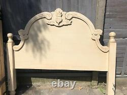 French Shabby Chic King Size Bed Frame