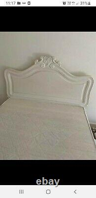 French style double bed frame