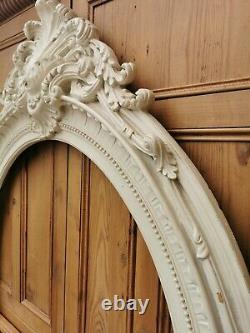 HUGE OVAL MIRROR FRAME FRENCH STYLE YOUR PROJECT 5 FT HIGH x 41inches WIDE
