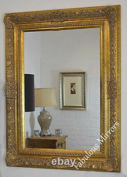 LG Decorative Antique Gold Wall Mirror Full range of sizes and frame colours
