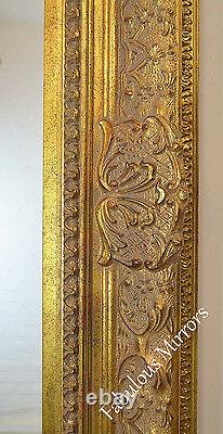 LG Ornate Decorative Embossed Shabby Chic Mirror CHOICE OF COLOUR & SIZE NEW