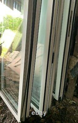 Large Solarlux UPVC patio style French door with frame and double-glazed glass