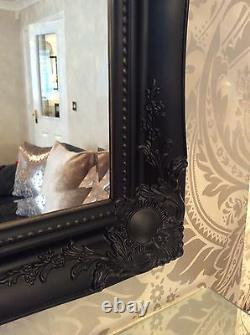 Ornate Black Mirror Small Large Extra Large Available BARGAIN MIRRORS