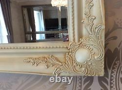 Ornate Cream / Ivory Shabby Chic French Inspired Mirror Choose your Colour