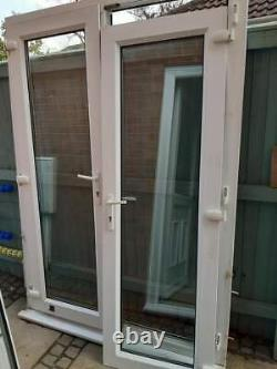 UPVC External French Patio doors 1470 wide x 2090 high mm frame including sill