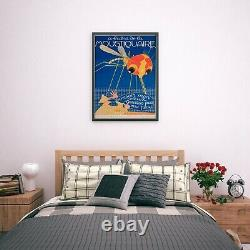 Vintage Mosquito French France Travel Advert Art Poster Print A4 B1 Framed