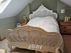 White French Style King-size Bed Frame Used